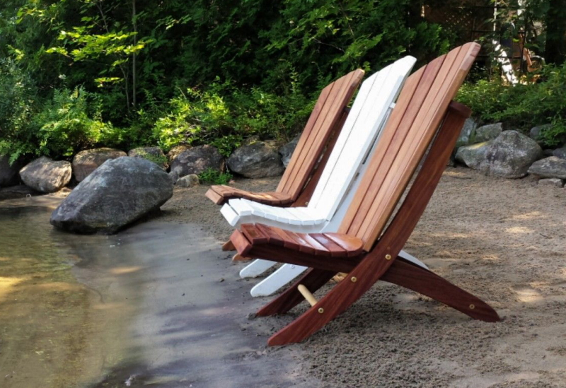 Adirondack Beach Chair Plans The Barley Harvest Woodworking