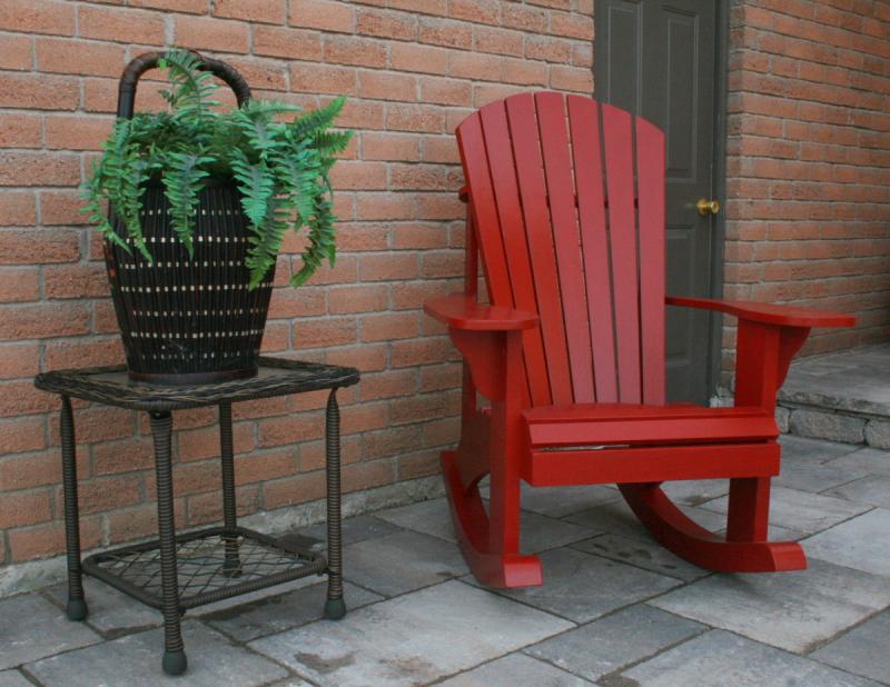 Adirondack Rocking Chair Plans The Barley Harvest