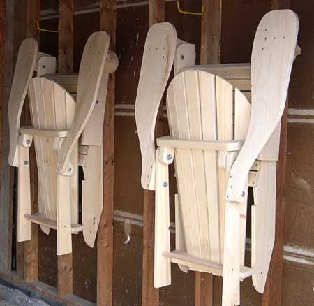 folding adirondack chair woodworking plan