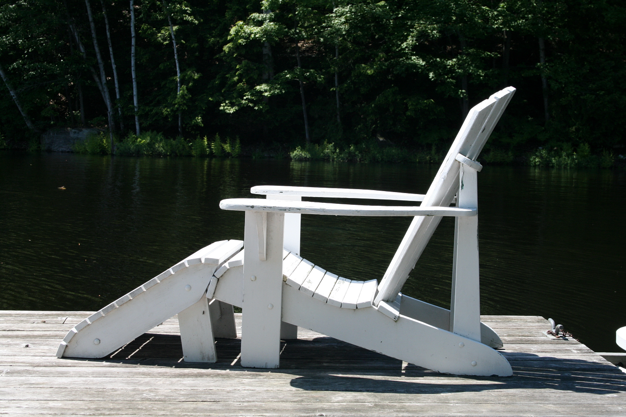 Details about Adirondack Chair & Foot Stool Plans - FULL SIZE PAPER