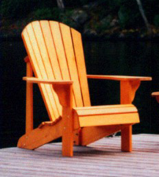 Adirondack Chair Plans The Barley Harvest Woodworking