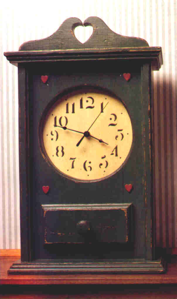 Country Clock The Barley Harvest Woodworking