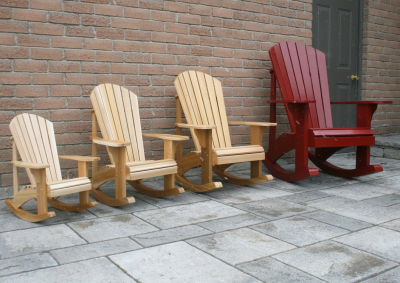 Child Size Adirondack Rocking Chair Plans The Barley